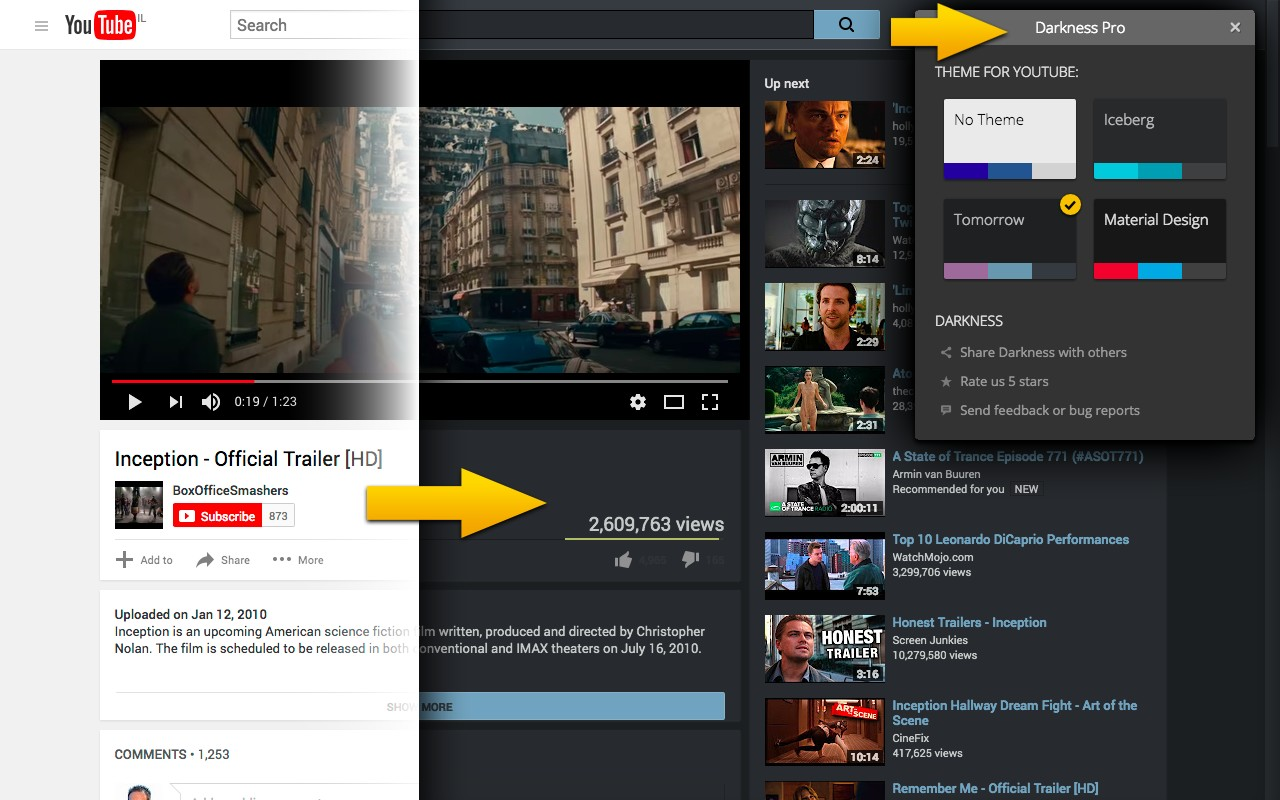 Darkness Beautiful Dark Themes For Google Facebook And More